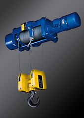 Stationary wire rope hoists